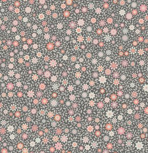 Jenean Morrison Silent Cinema Fabric - Shadow Play - Pink