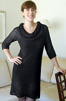 Dovetail Designs Knitting and Crochet Patterns - Little Black Dress to Knit Pattern