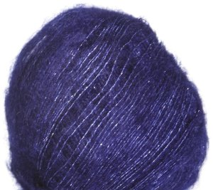 Debbie Bliss Party Angel Yarn - 04 Midnight/Silver