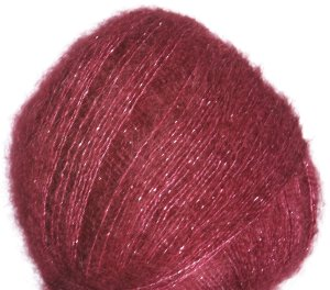 Debbie Bliss Party Angel Yarn - 05 Claret/Silver