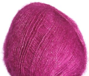 Debbie Bliss Party Angel Yarn - 06 Fuschia/Gold