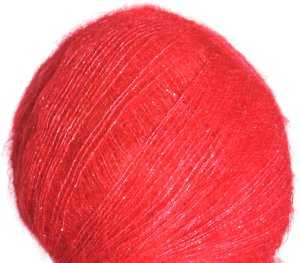 Debbie Bliss Party Angel Yarn - 07 Crimson/Gold