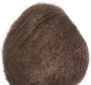 Debbie Bliss Party Angel Yarn - 09 Cocoa/Gold