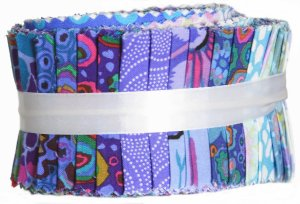 Kaffe Fassett Kaffe Classic Precuts Fabric - Design Roll - Blue
