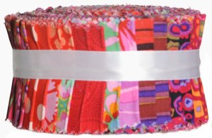 Kaffe Fassett Kaffe Classic Precuts Fabric - Design Roll - Red