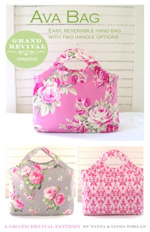Tanya Whelan Sewing Patterns - Ava Bag Pattern