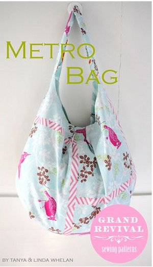 Tanya Whelan Sewing Patterns - Metro Bag Pattern