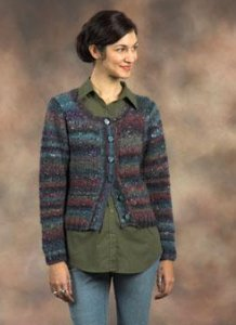Plymouth Yarn Sweater & Pullover Patterns - 2168 Cardigan Pattern
