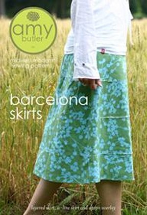 Amy Butler Sewing Patterns - Barcelona Skirts Pattern