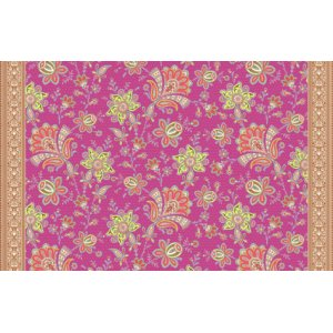 Amy Butler Soul Blossoms Fabric - Sari Blooms - Raspberry