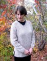 Knitting Pure and Simple Women's Sweater Patterns - 0996 - Bulky V Neck Pullover