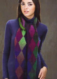 Wisdom Yarns Poems Northern Lights Scarf Kit - Scarf and Shawls