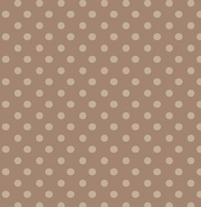 Freespirit Designer Essentials Print Fabric - Beads - Brown