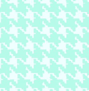 Freespirit Designer Essentials Print Fabric - Houndstooth - Caribbean