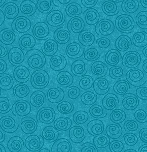 Freespirit Designer Essentials Print Fabric - Pinwheel - Oriental Blue