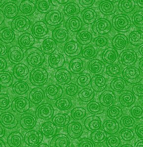 Freespirit Designer Essentials Print Fabric - Pinwheel - Green