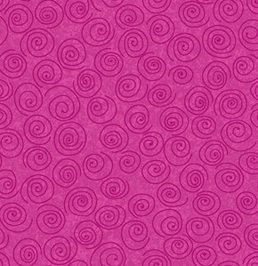 Freespirit Designer Essentials Print Fabric - Pinwheel - Hot Pink