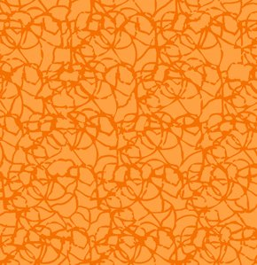 Freespirit Designer Essentials Print Fabric - Twine - Orange