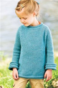 Cascade 220 Superwash Sport Blueberry Popover Kit - Crochet for Kids