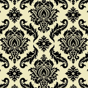 Joel Dewberry Aviary 2 Fabric - Damask - Cavern
