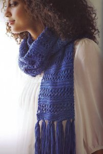 Madelinetosh Tosh DK Lace Stripe Scarf Kit - Scarf and Shawls