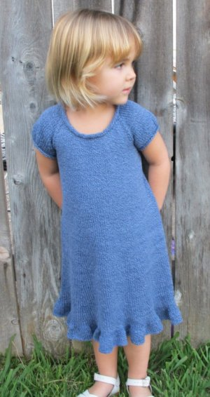 Simple Knit Dress Pattern : Knitting Pure and Simple Patterns at Jimmy Beans Wool