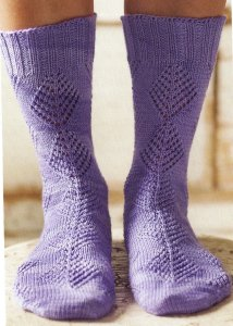 Shibui Knits Sock Diamond Lace Socks Kit - Socks