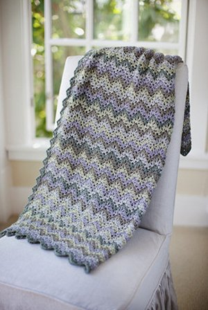Churchmouse at Home Patterns - Vintage Crocheted Throw & Afghan