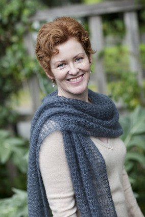 Churchmouse Classics Patterns - Kelly's Frothy Crocheted Scarf & Wrap Pattern