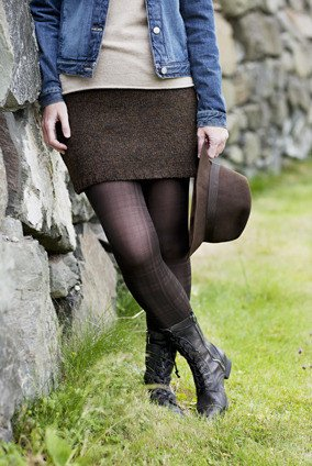 Churchmouse Classics Patterns - Simple Straight Skirt