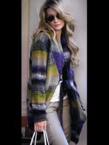 Noro Silk Garden Long Jacket Kit - Women's Cardigans