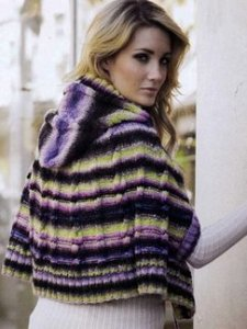 Noro Kureyon Hooded Cape Kit - Women's Accessories