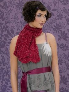 Louisa Harding Grace Hand Beaded Joy Scarf Kit - Scarf and Shawls