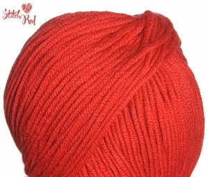 Crystal Palace Merino 5 Yarn - 1012 Crimson (Stitch Red)