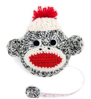 Lantern Moon Tape Measures - Sock Monkey