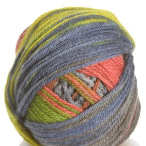 Classic Elite Liberty Wool Print Yarn - 7802 Art Deco Wavelength (Discontinued)