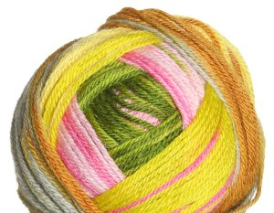 Classic Elite Liberty Wool Print Yarn - 7861 Golden Pagoda