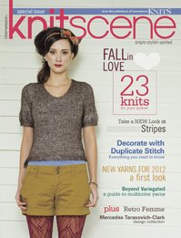 Knitscene Magazine - '12 Spring Special Issue