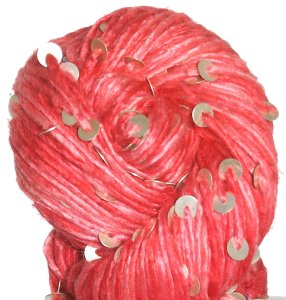 Knit Collage Stargazer Silk & Sequins Yarn - Antique Coral