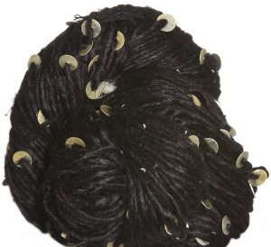 Knit Collage Stargazer Silk & Sequins Yarn - Jet Black