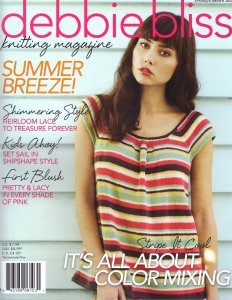 Debbie Bliss Knitting Magazine - '12 Spring/Summer