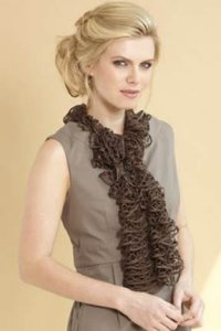 Filatura di Crosa Moda and Moda Lame Scarf Kit - Scarf and Shawls