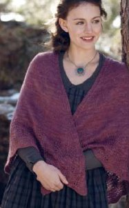 The Fibre Company Road to China Light Margarethe Shawl Kit - Scarf and Shawls