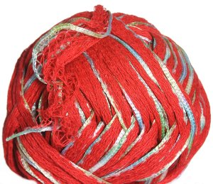 Knitting Fever Petals Yarn - 08 Red