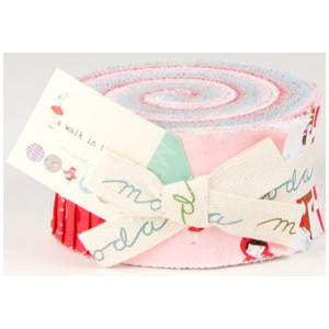 Aneela Hoey A Walk in the Woods Precuts Fabric - Jelly Roll
