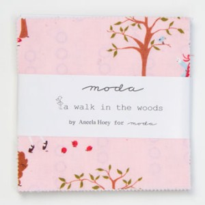 Aneela Hoey A Walk in the Woods Precuts Fabric - Charm Pack