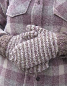 The Fibre Company Terra Lychee Mittens Kit - Hats and Gloves