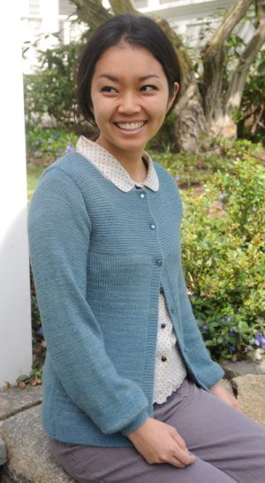 The Fibre Company Road to China Light Hawthorn Kit - Women's Cardigans