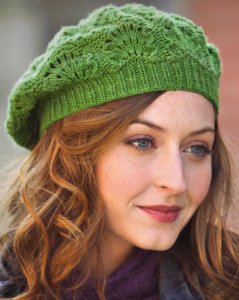 Manos del Uruguay Greenery Beret Kit - Hats and Gloves