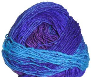 Noro Karuta Yarn - 02 Royal, Turquoise, Purple